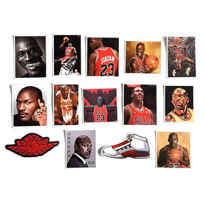 Pack 50 stickers - Michael Jordan - Sneakers Dealers-Paris