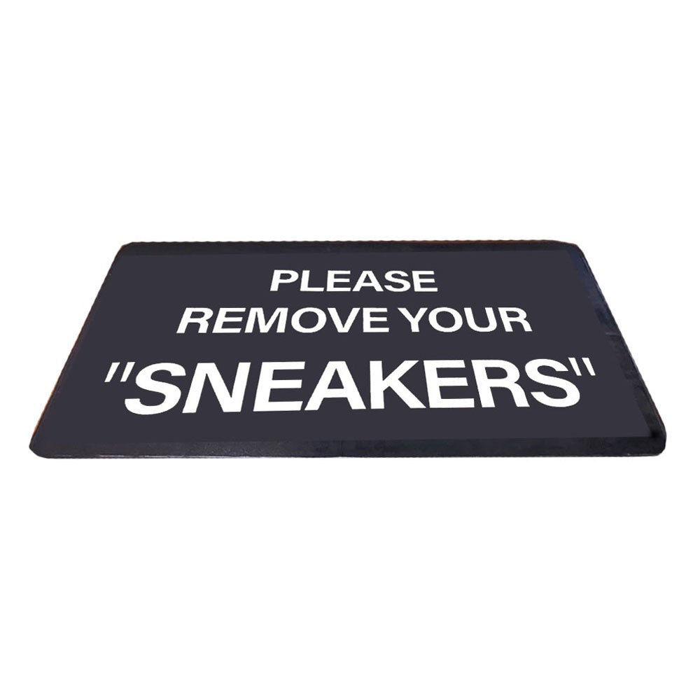 "Tapis - ""Remove your Sneakers"""