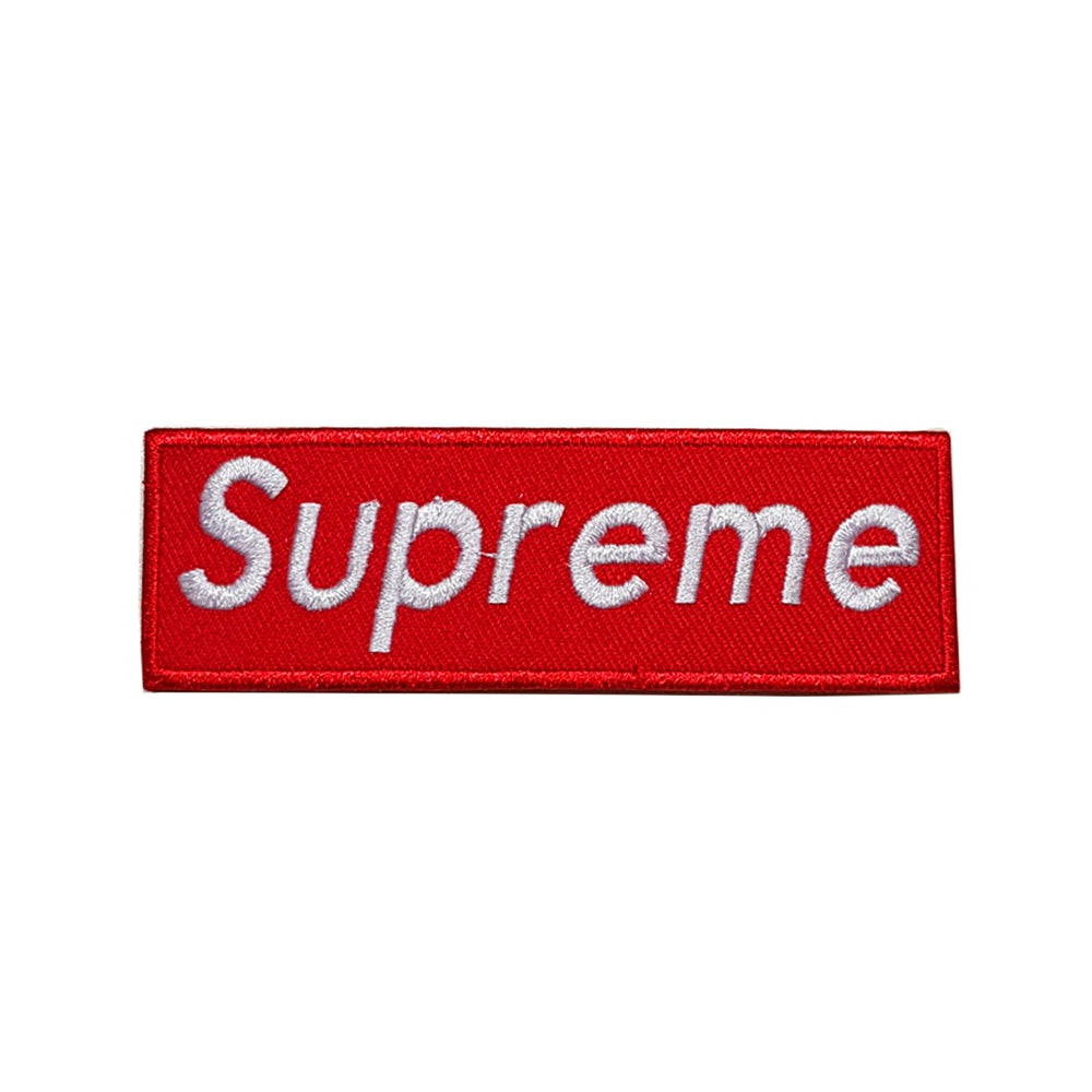 Patch Supreme Box Logo - Sneakers Dealers-Paris