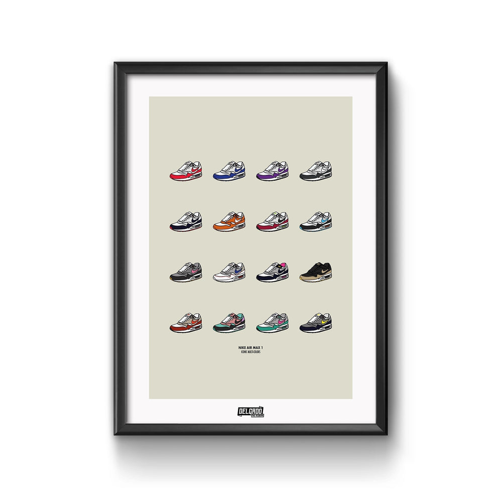 Affiche Air Max Collection - Sneakers Dealers-Paris