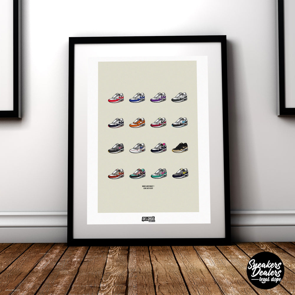 Affiche Air Max Collection