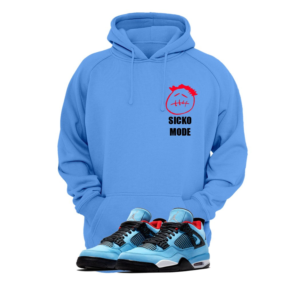 Print Hoodie (Royal Blue) - Travis Scott Sicko Mode - Sneakers Dealers-Paris
