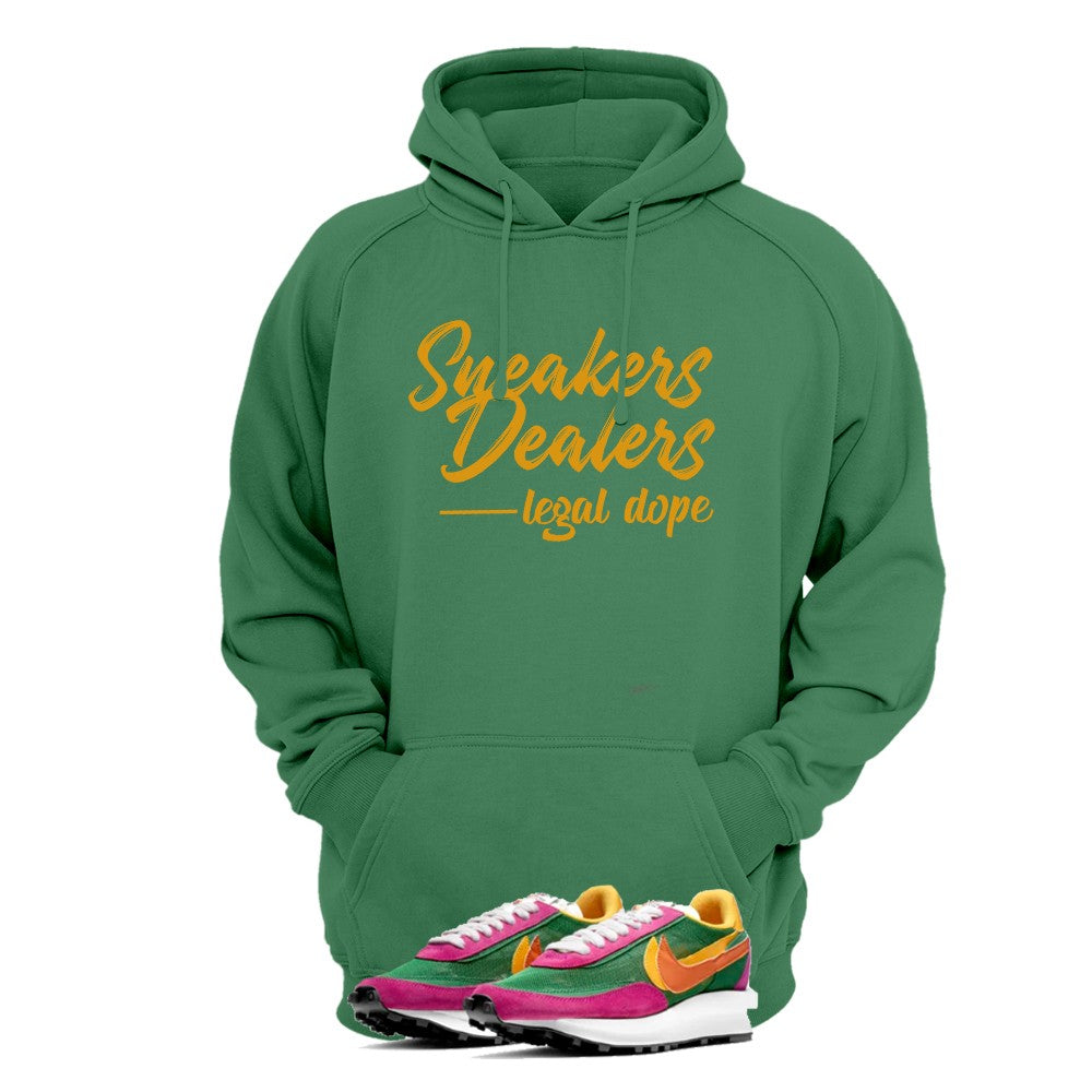 Print Hoodie (Forest Green) - Logo Sneakers Dealers - Sneakers Dealers-Paris