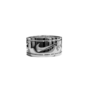 Bague Amna - Silver Swoosh - Sneakers Dealers-Paris