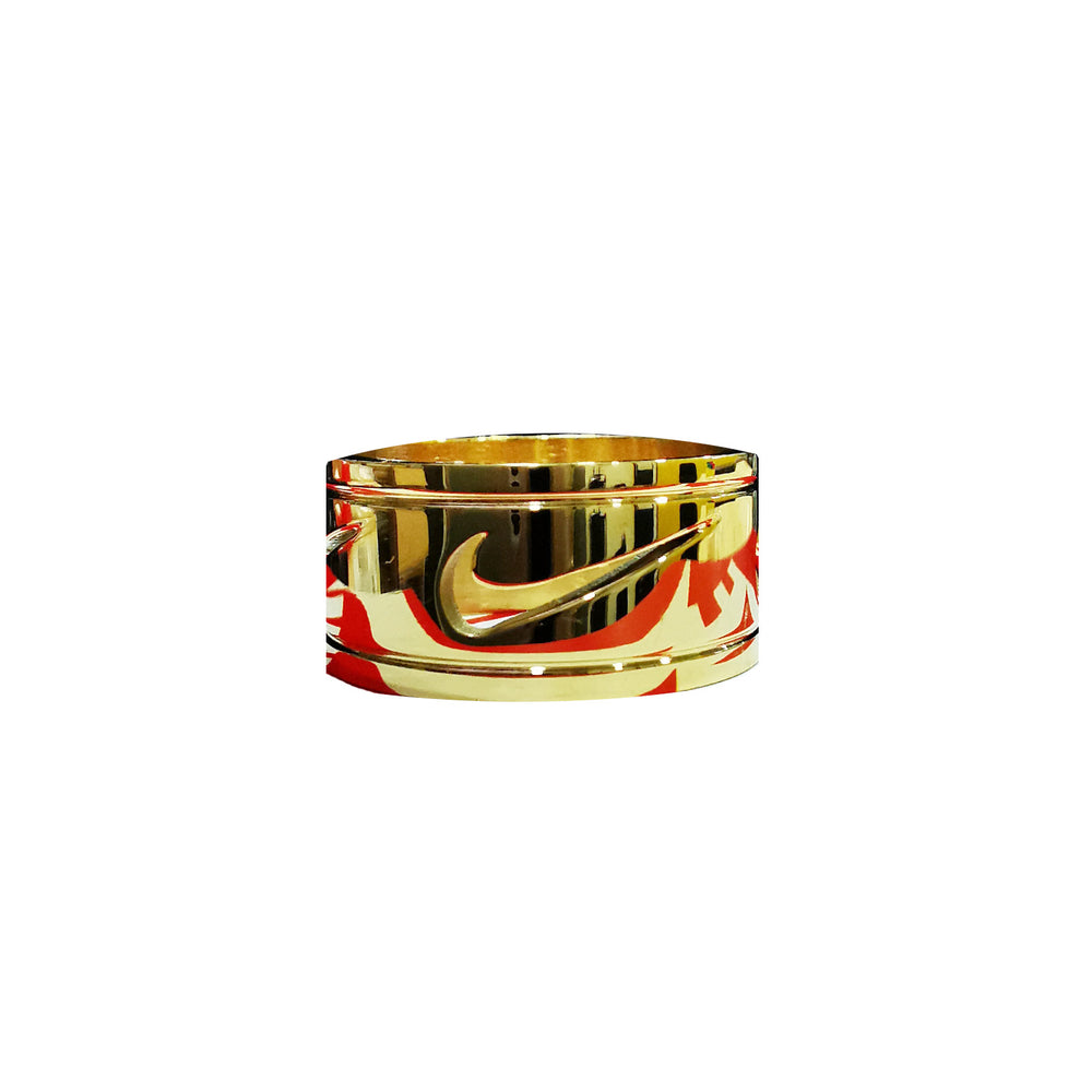 Bague Briana - Gold Swoosh - Sneakers Dealers-Paris