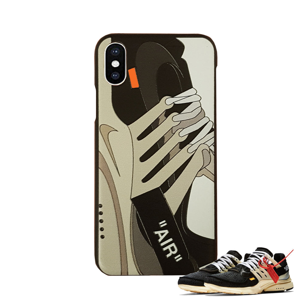 Coque Iphone Blanche- OFF WHITE x Nike Presto - Sneakers Dealers-Paris