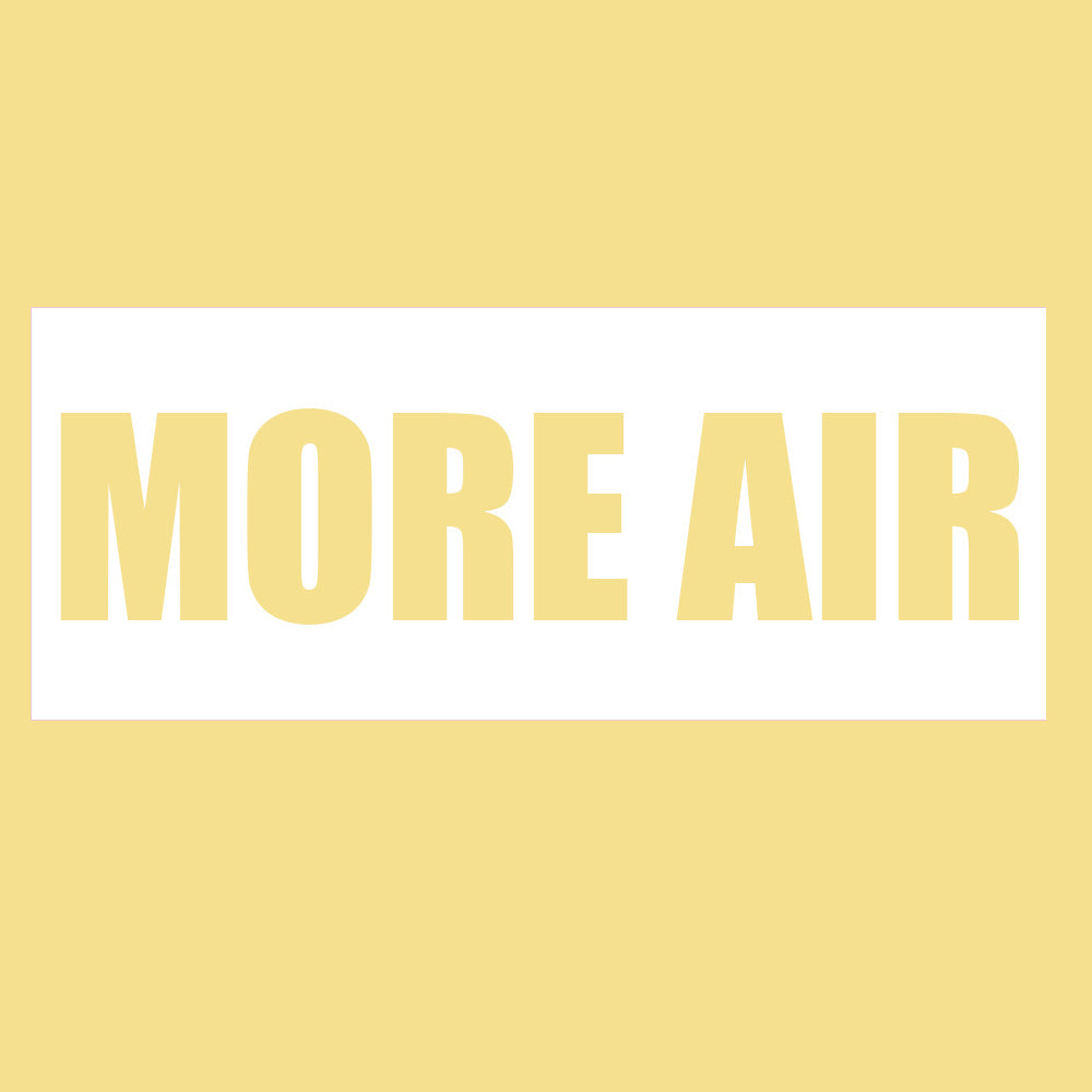 "Print Hoodie (Yellow) - ""More Air"" Sean Wotherspoon"