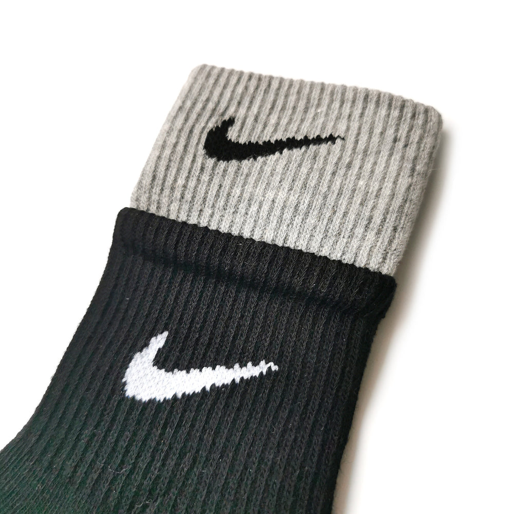 Chaussettes Nike Double Grey/Black NIKE LAB - Sneakers Dealers-Paris