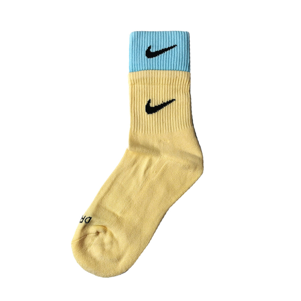 Chaussettes Nike Double Yellow/Blue NIKE LAB - Sneakers Dealers-Paris