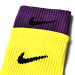 Chaussettes Nike double Yellow/Purple NIKE LAB - Sneakers Dealers-Paris