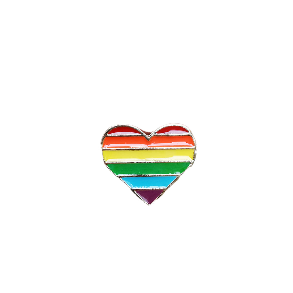 Pin's Design -  LGBT heart