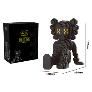 JEU DE BRIQUES - BLACK KAWS SITTING - Sneakers Dealers-Paris