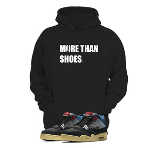Print Hoodie (Black) - More than Shoes