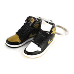"Mini Sneakers - ""Air Jordan 1 Top 3 Gold"" - Sneakers Dealers-Paris"