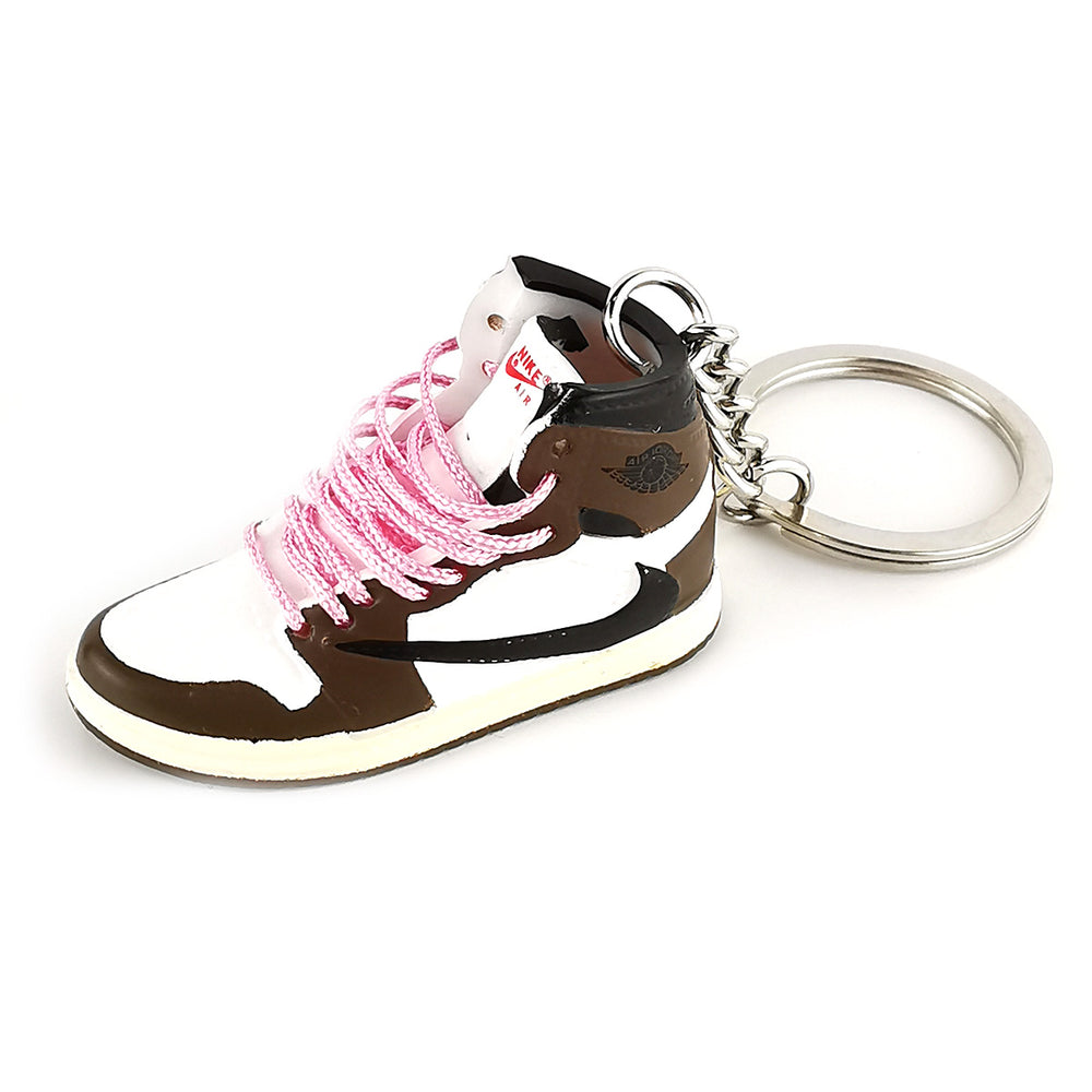 Mini Sneakers - Jordan 1 Travis Scott (pink laces) - Sneakers Dealers-Paris
