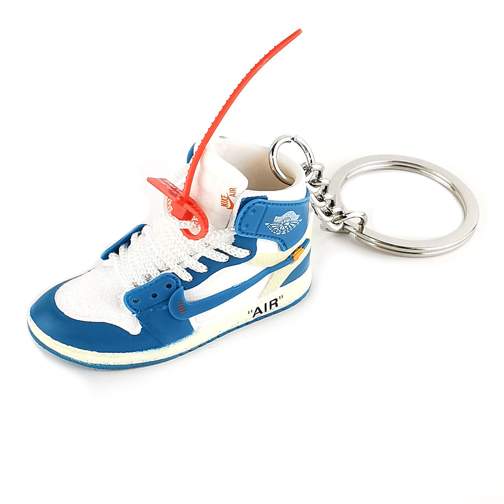 Mini Sneakers - Off-White x Jordan Blue University