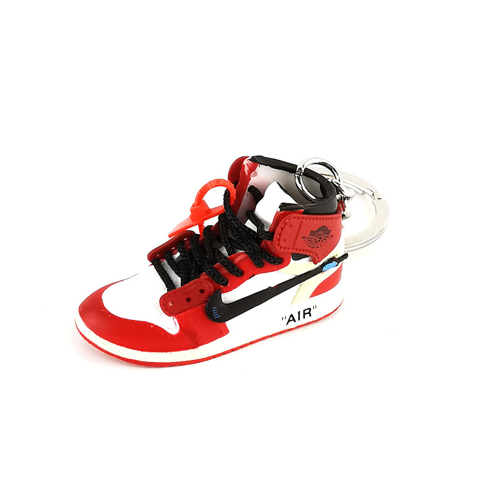 "Mini Sneakers - Off-White x Jordan ""CHICAGO"""