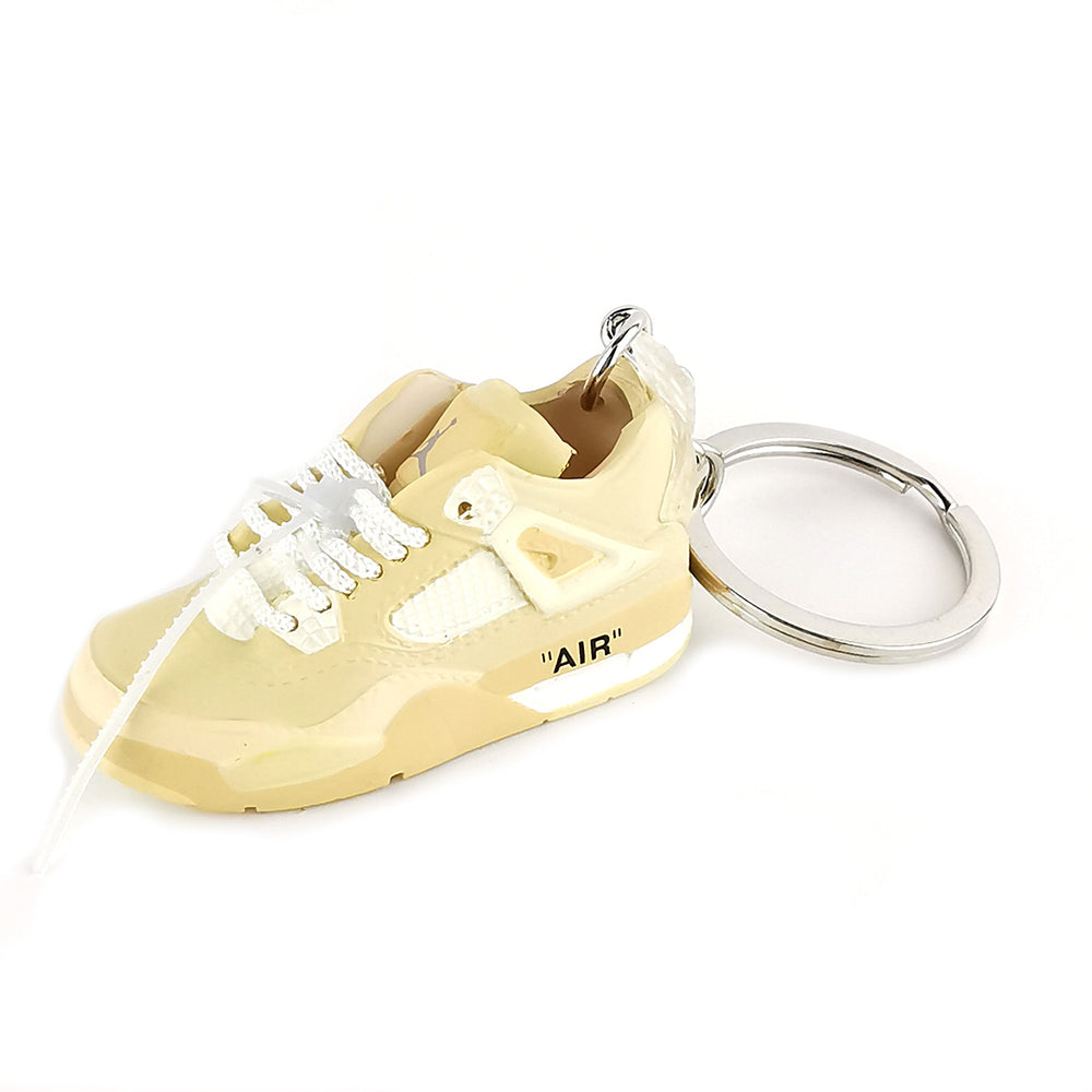 Mini Sneakers - Off White x Jordan 5 Sail