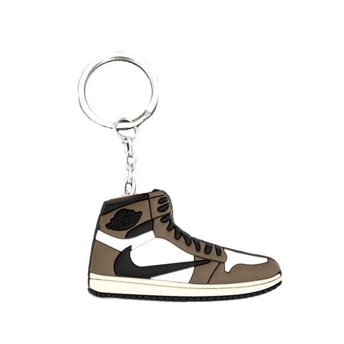 Porte Clé - Air Jordan 1 Travis Scott Mocha