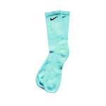 Chaussettes Nike Custom - Blue Turquoise - Sneakers Dealers-Paris