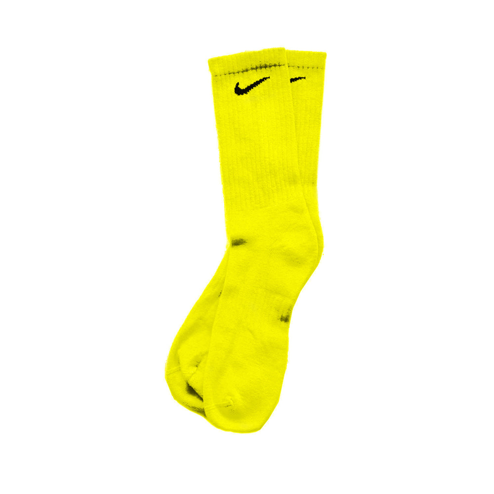 Chaussettes Nike Custom - Yellow - Sneakers Dealers-Paris