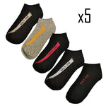 Coffret 5 paires de chaussettes inspiration yeezy - Sneakers Dealers-Paris