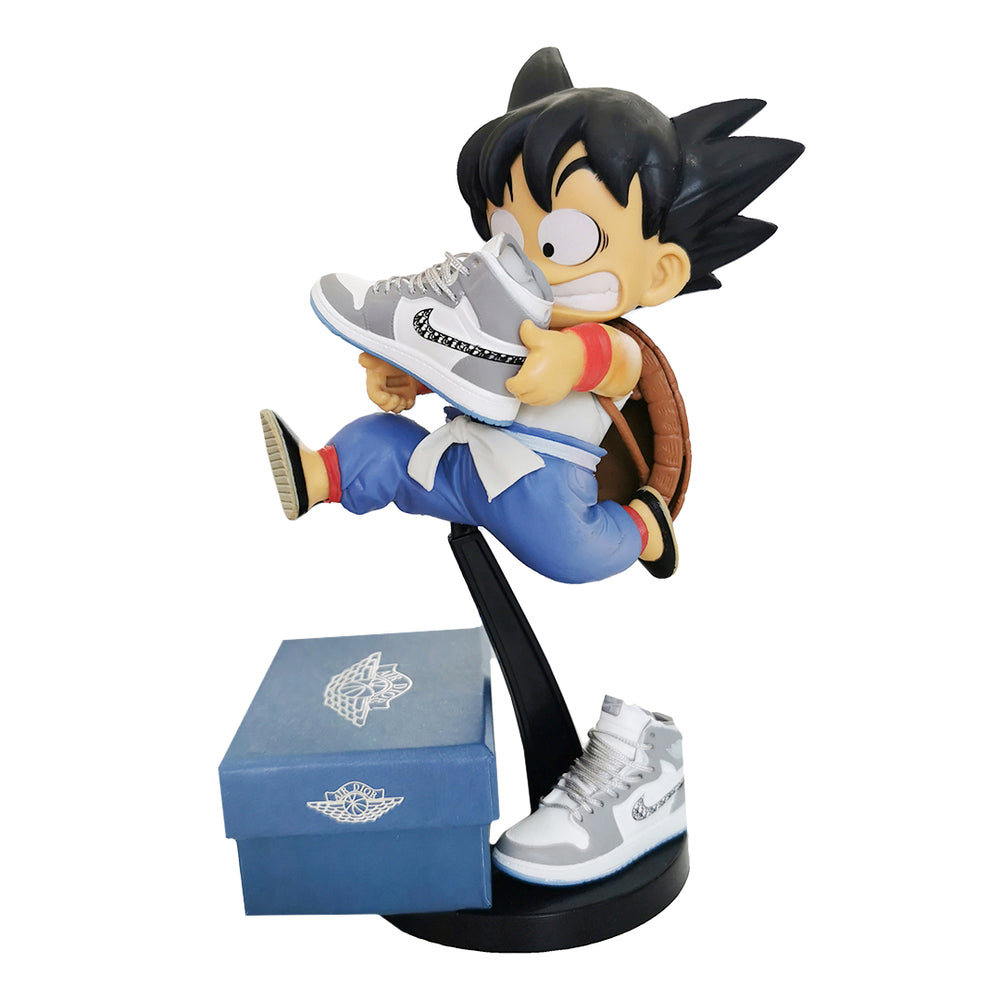 Charger l'image dans la galerie, Figurine Dragon Ball Z - Goku x Dior AJ1 - Sneakers Dealers-Paris