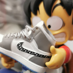 Figurine Dragon Ball Z - Goku x Dior AJ1 - Sneakers Dealers-Paris
