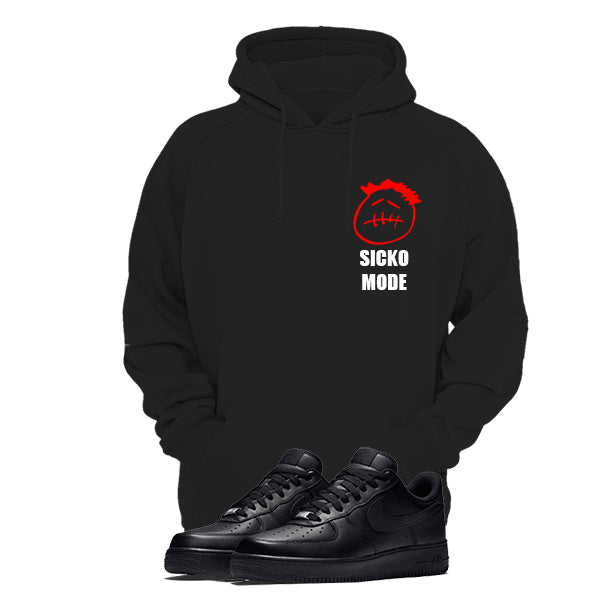 Print Hoodie (black) - Travis Scott Sicko Mode - Sneakers Dealers-Paris