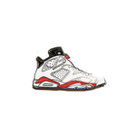 Pin's Design - Jordan 6 Retro Carmine white