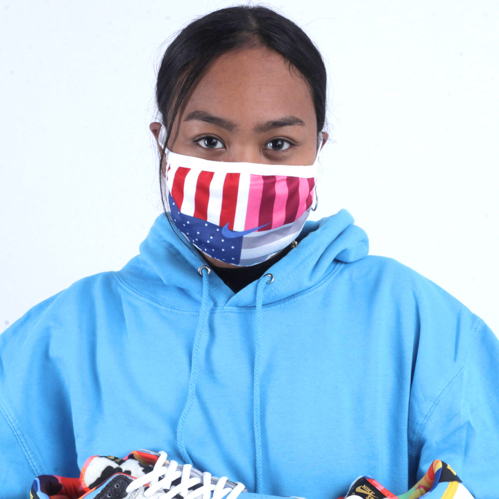 Face Mask - Swoosh Parra - Sneakers Dealers-Paris
