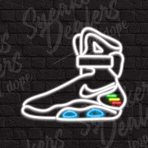 Néon LED - AIR MAG BACK TO THE FUTURE - Sneakers Dealers-Paris