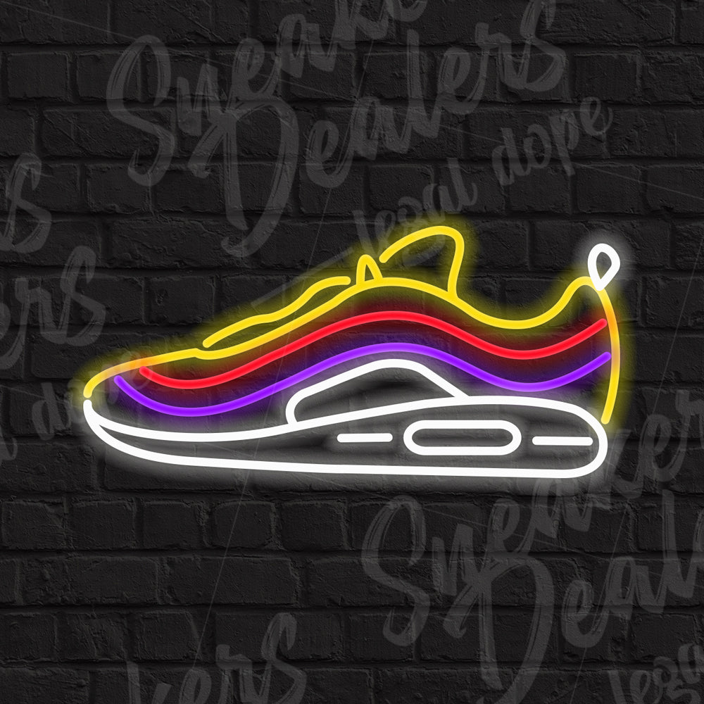 Néon LED - AIR MAX 97 SEAN WOTHERSPOON - Sneakers Dealers-Paris
