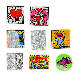Pack 50 Stickers keith Haring - Sneakers Dealers-Paris