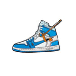 Pin's Design - Air Jordan 1 Off White UNC