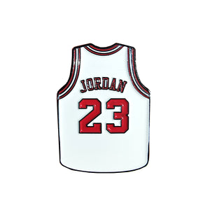 Pin's Design - Jordan Bulls Jersey White - Sneakers Dealers-Paris