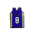 Pin's Design - Kobe Bryant Purple Jersey