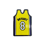 Pin's Design - Kobe Bryant Yellow Jersey