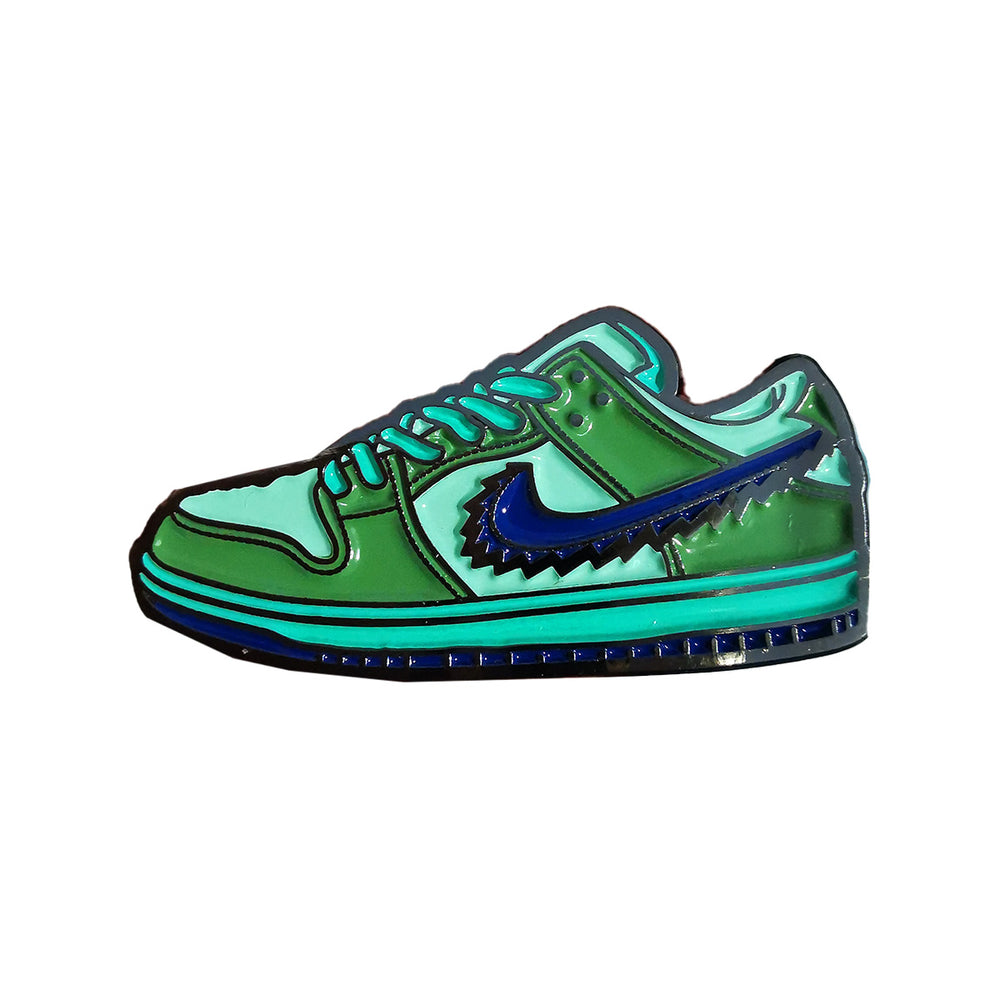 Pin's Design - Nike Dunk Grateful Dead Green