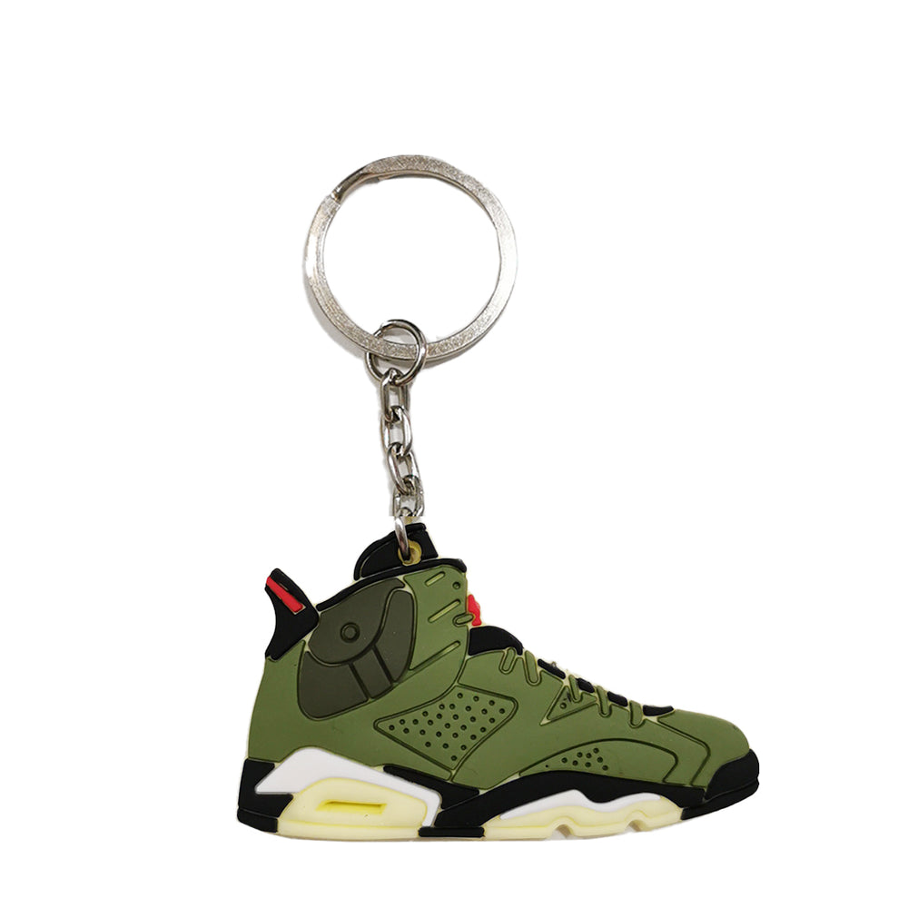 Porte clé - Air jordan 6 travis scott - Sneakers Dealers-Paris