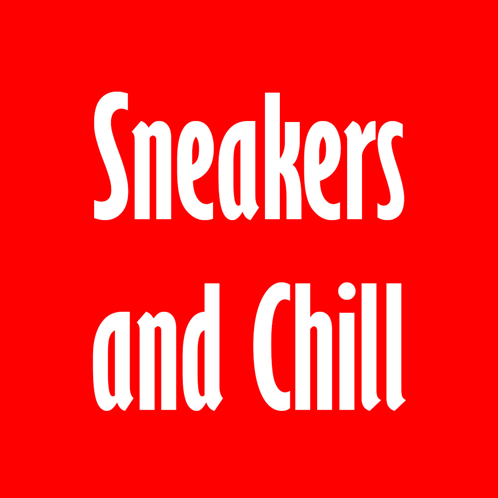 Print Hoodie (Red) - Sneakers & Chill - Sneakers Dealers-Paris