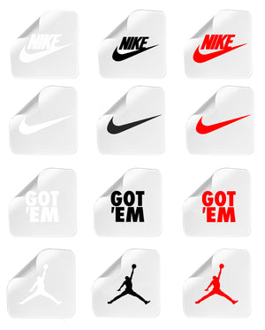 Custom Stickers pour Sneakers Box