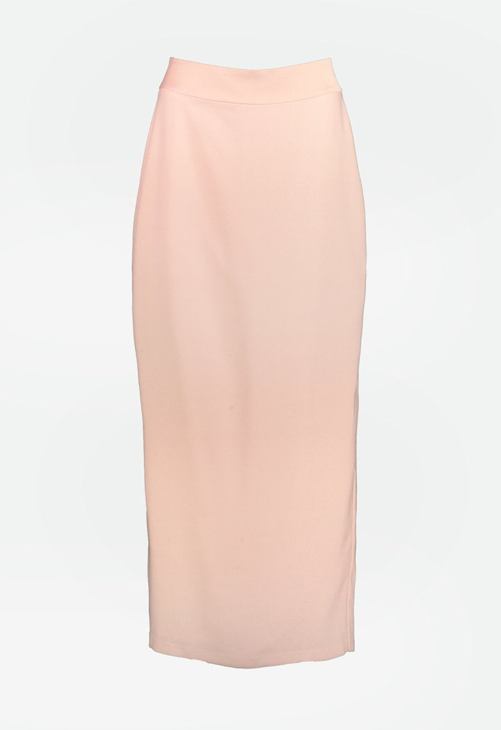 Choice Maxi Pencil Skirt Blush
