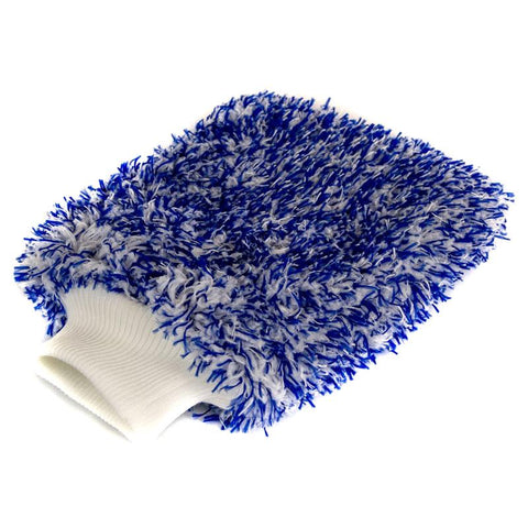 Blue Microfibre Wash Mitt