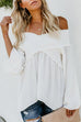 Irisdress One Shoulder Casual T-shirt Blouse Top