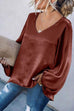 Irisdress Like Silk Casual Loose Blouse Top