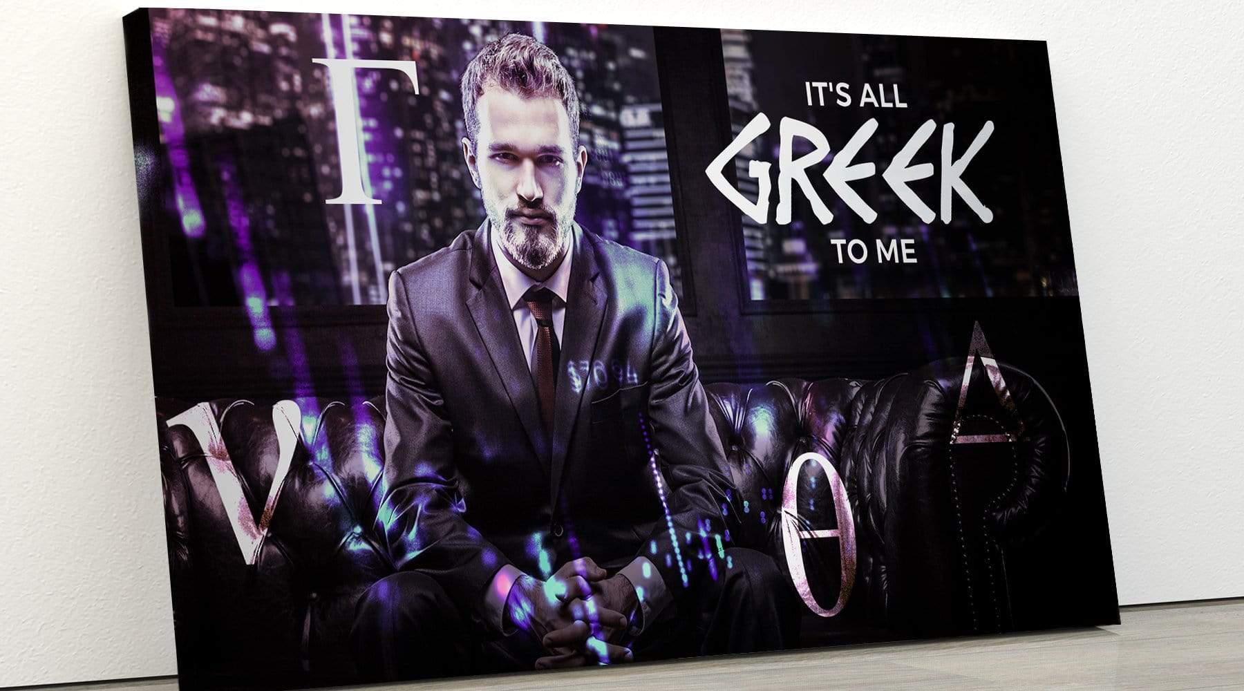 Pro Trader Gear Wall Art It's All Greek to Me II Wall art