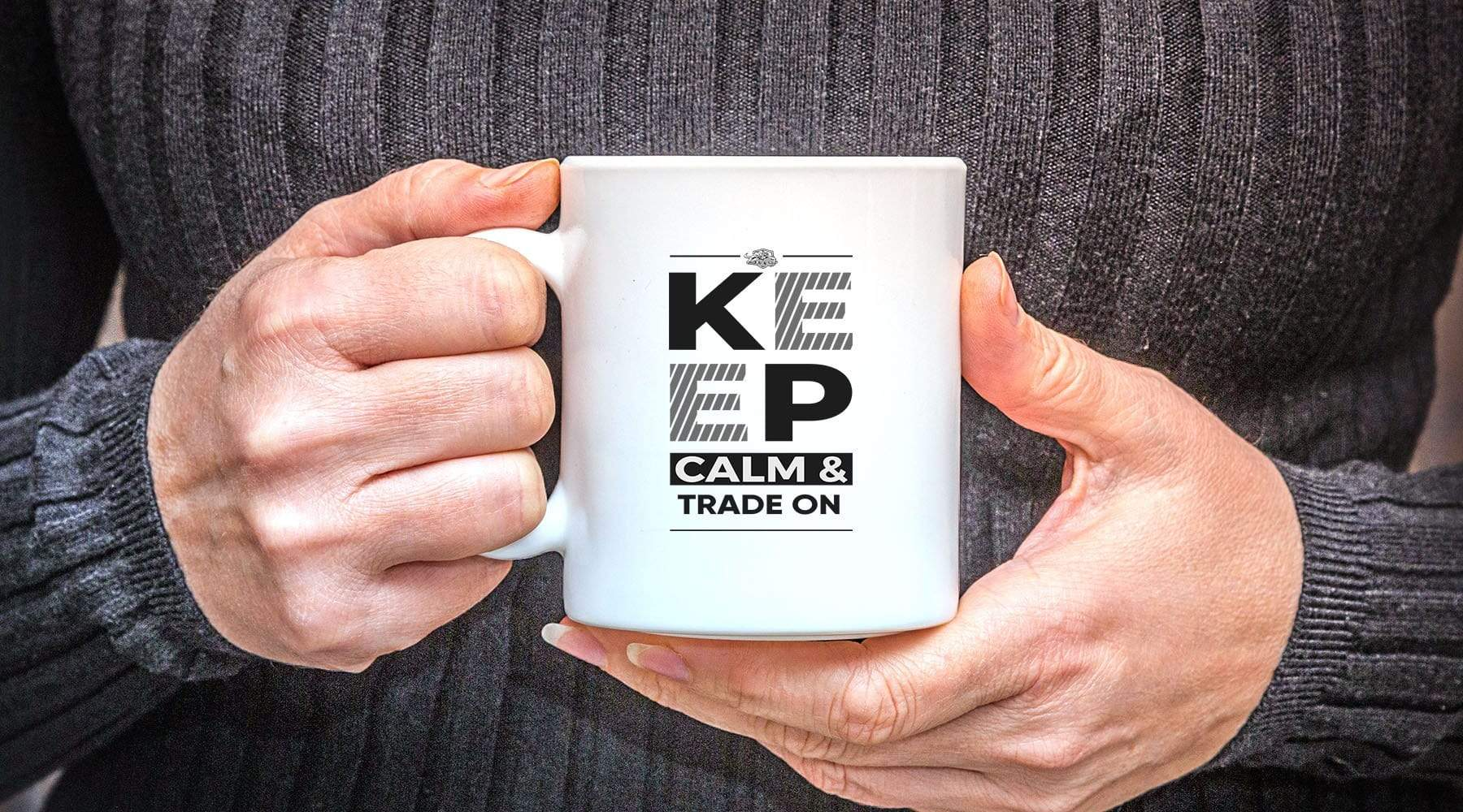 Pro Trader Gear Mug Keep Calm Trade Mug