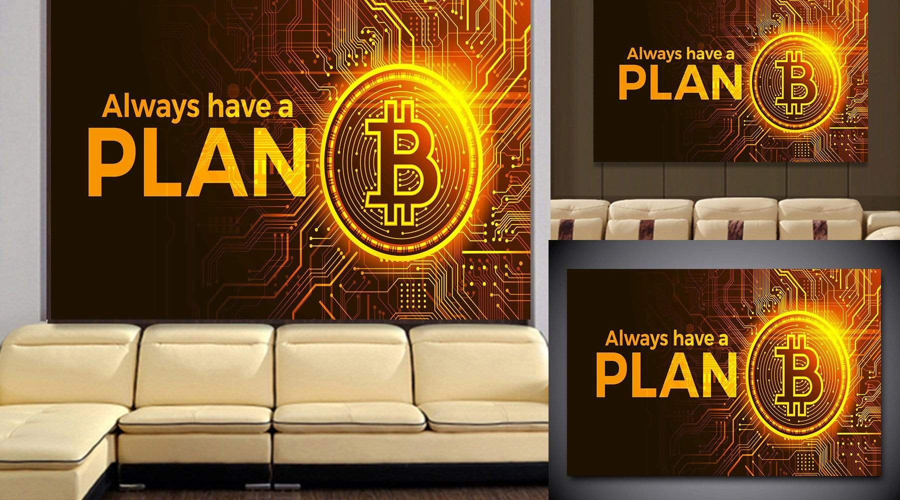 Pro Trader Gear Wall Art Plan B Wall art