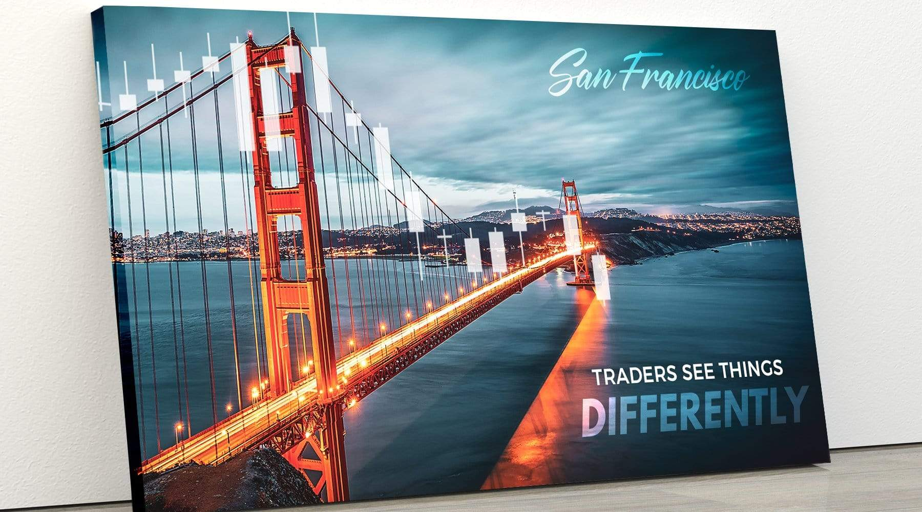 Pro Trader Gear Wall Art SF Golden Gate Wall art